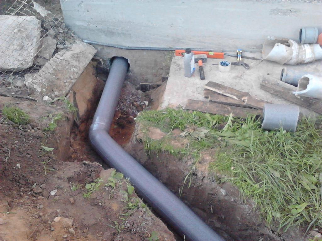 Как сделать канализацию на даче своими руками