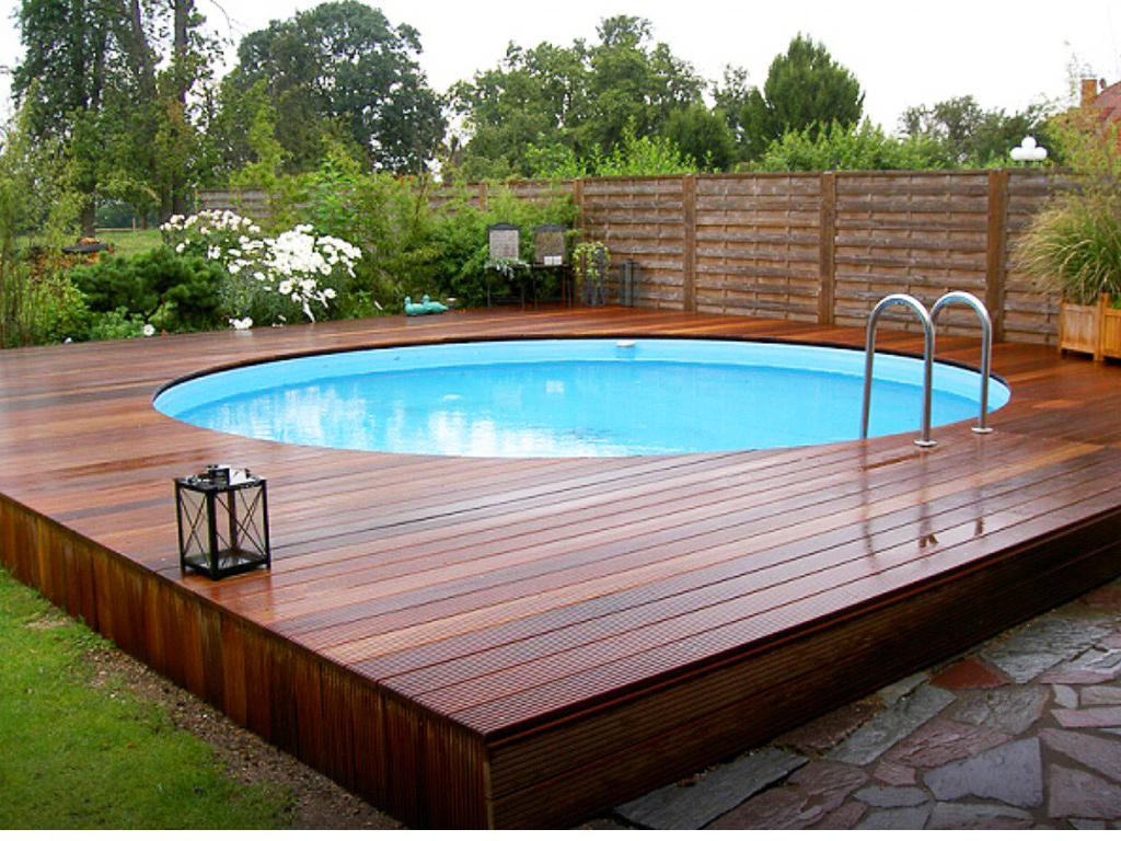 Как установить бассейн на даче