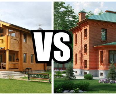 Какой дом лучше строить: деревянный или кирпичный?